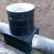 Прокладка систем канализации фото