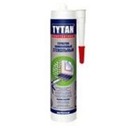 Герметик силиконовый Tytan Professional стекольный белый 310 мл фото