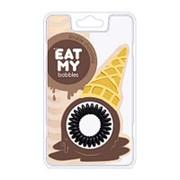 EAT MY bobbles, Резинка для волос «Двойной шоколад», 3 шт. фото