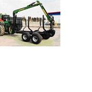 Комплекс для вывоза древесины на базе трактора и МАЗ фото