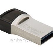 Флеш-накопитель USB3.1 32GB Transcend JetFlash 890S Silver (TS32GJF890S) фото