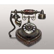 KIt) телефон кноп. (дерево) (763559)