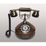 KIt) телефон кноп. (дерево) (813718)