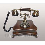KIt) телефон диск. (дерево) (813717)
