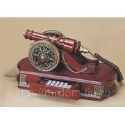 """ZH) телефон кноп. """"пушка"""" (дерево) (753174) фото"""