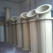 Мини-завод по производству полиуретановых трубопроводов (самотеков) методом холодного литья. фото
