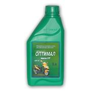 Масла для мотоциклов и моторных лодок от производителя, компания Нефтепродукт. Минеральное моторное масло Оптимал Мото 2Т . фото