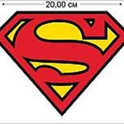 Стикер Супермен (15,1x20 см) №879 фото