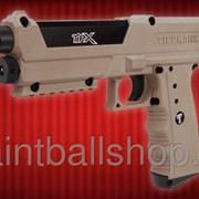 Пистолет пейнтбольный TiPX песочный фото