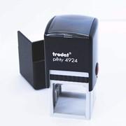 Печать автоматическая Trodat 4924 диаметр 40 мм + клише фото