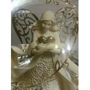 Музыкальный стеклянный шар Девушка с сердцем фото