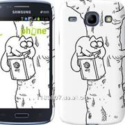 Чехол на Samsung Galaxy Core i8262 Кот Саймона. На дереве 651c-88 фото
