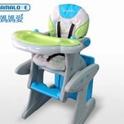Детский стульчик для кормления Mamalove 2 в 1 столпарта фото