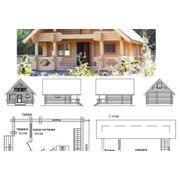 Проекты деревянных домов фото