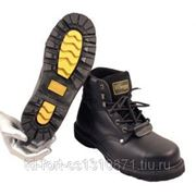 Ботинки Hummer черные с металлоподноском фото