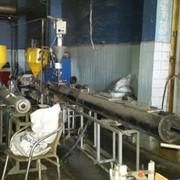 Экструзионная линия для производства трубы из ПЭ или ПП Ф 20-40 мм фото
