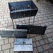 Мангал чемодан разборной на 8 шампуров фото