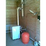 Монтаж напольного конвекционного газового котла мощностью от 15 до 30 кВт фото