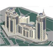 Проектирование жилых комплексов в Кишиневе. Проектирование комплекса Kharcov фото