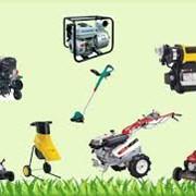 Обслуживание садового оборудования фото