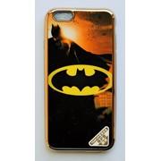 Чехол на Айфон 5/5s/SE Силикон Глянцевый с принтом Бэтмен фото