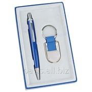 Подарочный набор: ручка, брелок Ультрамарин фото