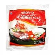 Бумага рисовая AROY-D 22см, 50 листов, 454 гр. фото