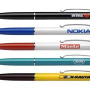 Печать логотипа на ручках фото