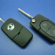 Ремонт, изготовление и продажа авто чип ключей на шкода skoda фото