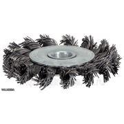 Щетка круглая со стальной щетиной 100мм KSTools фото