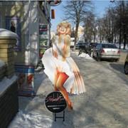 Реклама фигурная фото