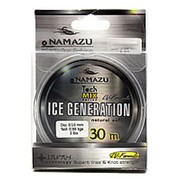 """Леска Namazu """"Ice Generation"""", L-30 м, d-0,20 мм, test-3,20 кг, прозрачная/10/400/ фото"""