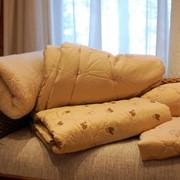 Одеяло верблюжий пух тике облегченное фото