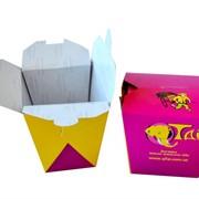 Упаковка для китайской лапши 300мл. фото