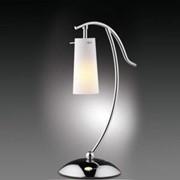 Лампа настольная ODEON LIGHT 1252/1T хром Н/лампа E14 40W Kappa фото