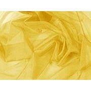 Органза желтая фото