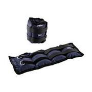 Утяжелители универсальные Starfit WT-401 2 кг*2шт, темно-серый фото