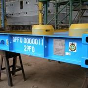 Контейнеры-платформы для интермодальной перевозки генеральных грузов фото