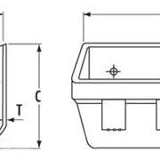 Ковш элеваторный (норийный) полимерный ATLAS AA148TN фото