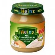 Пюре ХАЙНЦ (HEINZ) хек с картошечкой с 8 мес. 120 г фото