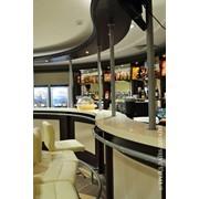 Стойка барная для ресторана, кафе, кафетерия фото