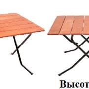 Детские реечные столы, прямоугольные, тип ног - ривьера фото
