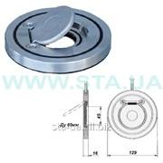 Клапан-хлопушк чугунный 65 мм РУ16 обратный межфланцевый фото