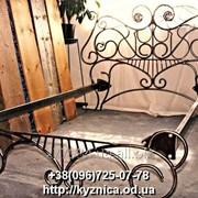 Кованая кровать Модель ККТ-022 фото