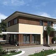Проект двухэтажный дом Жерона 156,6 м2 фото