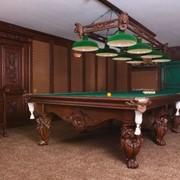 Мебель для бильярдных комнат. Столы и столешницы бильярдные. фото