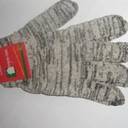 Рабочие вязанные перчатки стрейчевые фото