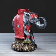 "Статуэтка ""Слон на камнях"" бронза, 25 см, микс фото"