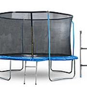Батут Start Line 10 футов (305 см) с внутренней сеткой, держателями и лестницей фото