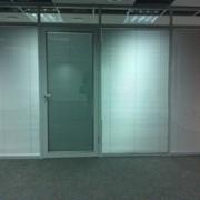 Офисные перегородки с алюминия фото